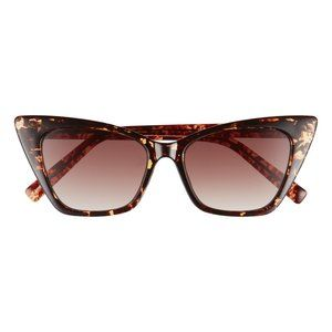 52mm Gradient Extreme Cat Eye Sunglasses by BP